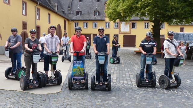 Schloss Vollrads Segway Tour
